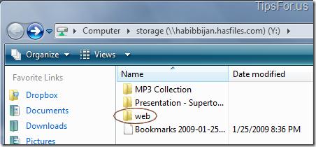 Who-hasfiles web folder