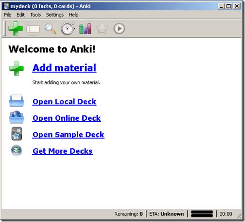 Anki - Main