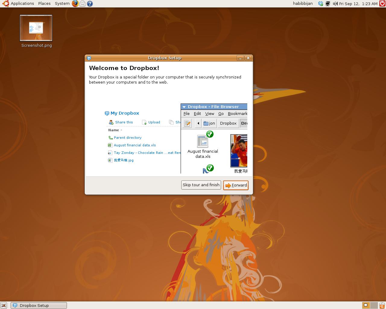 Install Dropbox Ubuntu 20.04