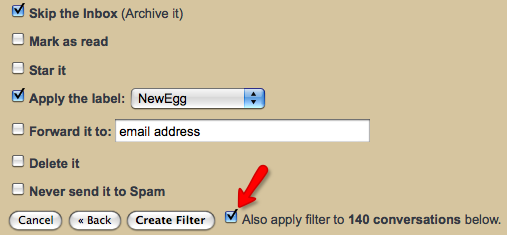 how to set up label in gmail