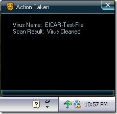 Rising Antivirus - EICAR