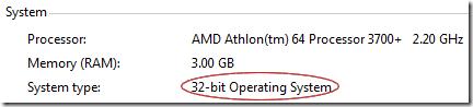 System - 32-bit