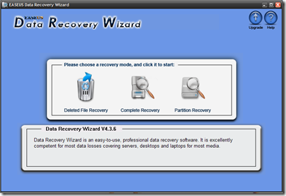 EASEUS - Data Recovery Wizard